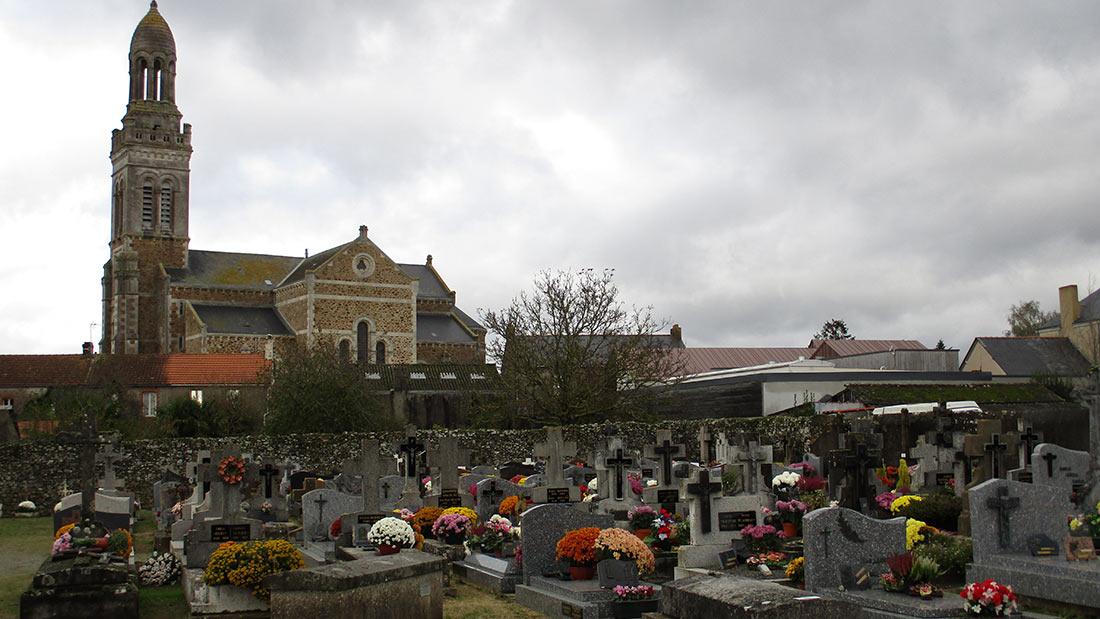 Cimetière Saint Mars de Coutais 44680