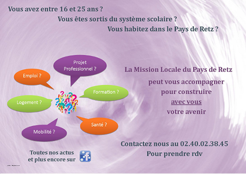 Mission Locale du Pays de Retz St Mars de Coutais
