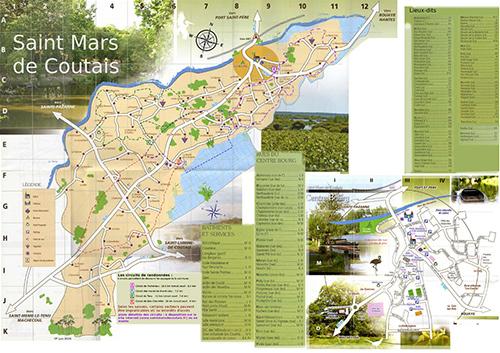 Plan de Saint Mars de Coutais