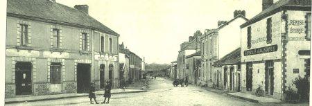 Saint Mars de Coutais Place de l'église & Grande Rue