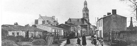 St Mars de Coutais : arrivée route de la gare 1900