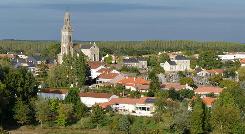 Vue St Mars de Coutais 44680 Bouaye Nantes
