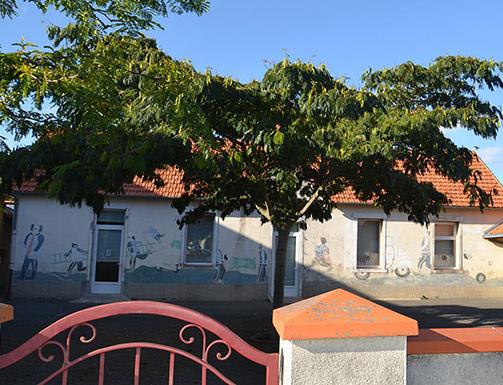 St Mars de Coutais salle restaurant scolaire 44680