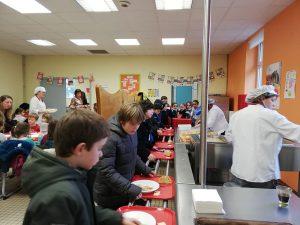 Self restaurant scolaire St Mars de Coutais