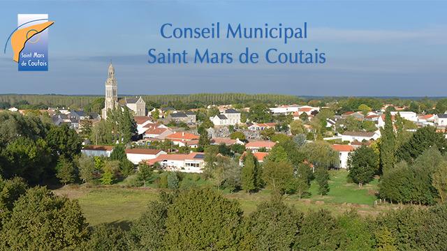 Nantes St Mars de Coutais - Conseil Municipal 44680
