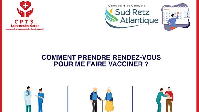 Rdv vaccin st mars de coutais SRA 2021